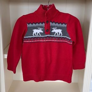 Other - Boys Super Cozy Red Sweater
